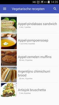 Vegetarische recepten nederlands app gratis screenshot 5