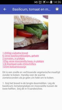 Vegetarische recepten nederlands app gratis screenshot 6