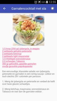 Vis en zeevruchten recepten app nederlands gratis screenshot 1