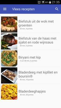 Vlees recepten app nederlands gratis poster