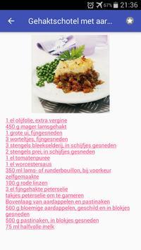 Vlees recepten app nederlands gratis screenshot 1