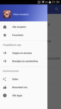 Vlees recepten app nederlands gratis screenshot 7