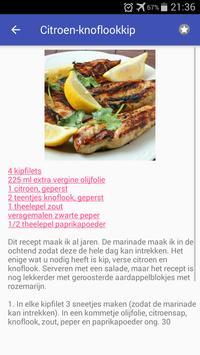 Vlees recepten app nederlands gratis screenshot 4