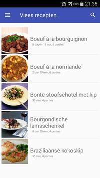Vlees recepten app nederlands gratis screenshot 5