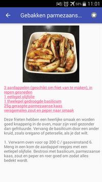 Recepten met aardappel app nederlands gratis screenshot 2