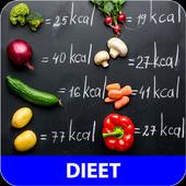 Dieet recepten app gratis nederlands icon