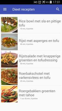 Dieet recepten app gratis nederlands screenshot 3
