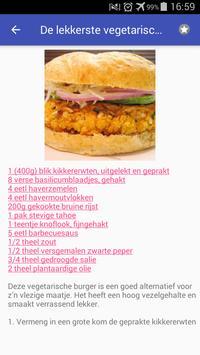 Dieet recepten app gratis nederlands screenshot 1