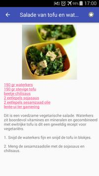 Dieet recepten app gratis nederlands screenshot 4