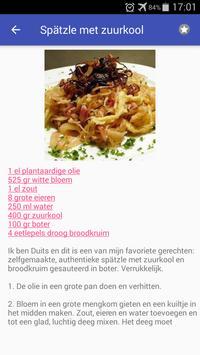 Duitse recepten app Nederlands gratis kookboek screenshot 2