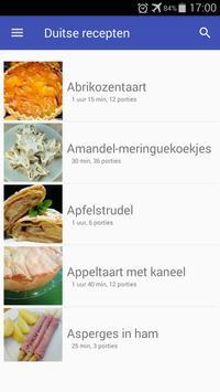 Duitse recepten app Nederlands gratis kookboek screenshot 3