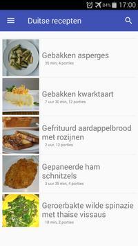 Duitse recepten app Nederlands gratis kookboek screenshot 5