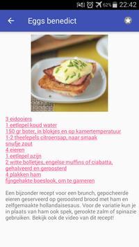 Eieren recepten app nederlands gratis screenshot 2