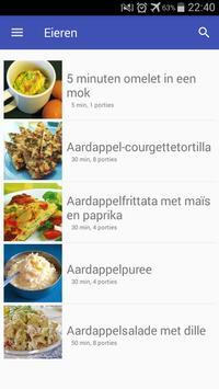 Eieren recepten app nederlands gratis screenshot 3