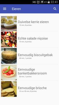 Eieren recepten app nederlands gratis screenshot 5