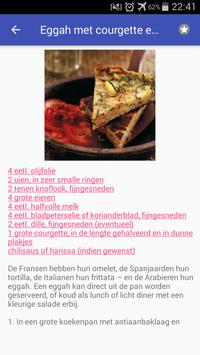 Eieren recepten app nederlands gratis screenshot 6