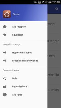 Eieren recepten app nederlands gratis screenshot 7
