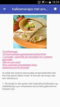 Gevogelte recepten screenshot 1