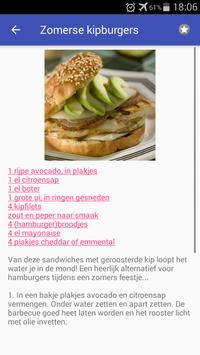 Gevogelte recepten screenshot 2