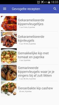 Gevogelte recepten screenshot 5