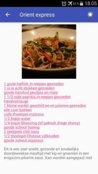 Gevogelte recepten screenshot 6
