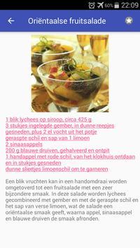 Gezonde desserts recepten app nederlands gratis screenshot 1