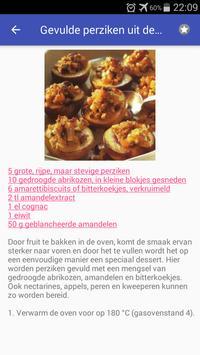 Gezonde desserts recepten app nederlands gratis screenshot 2