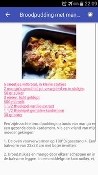 Gezonde desserts recepten app nederlands gratis screenshot 4