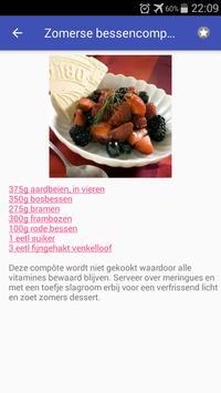 Gezonde desserts recepten app nederlands gratis screenshot 6