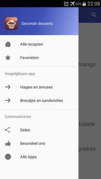 Gezonde desserts recepten app nederlands gratis screenshot 7