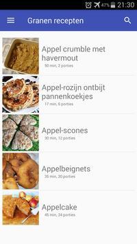 Granen recepten app nederlands gratis screenshot 3