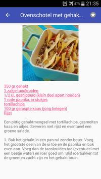 Granen recepten app nederlands gratis screenshot 4