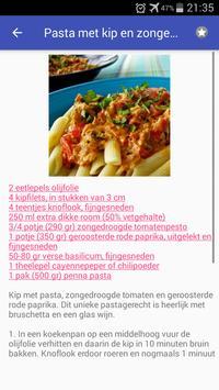 Granen recepten app nederlands gratis screenshot 6