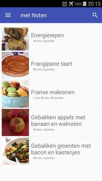 Recepten met noten app nederlands gratis screenshot 5