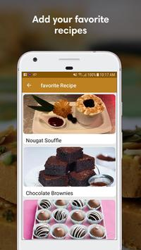 Sweet Recipes in English screenshot 1