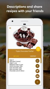 Sweet Recipes in English screenshot 2