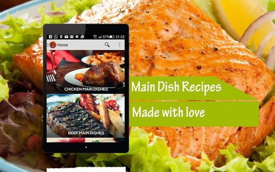 Main Dish Recipes poster