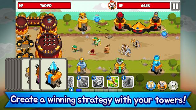 Grow Tower: Castle Defender TD screenshot 3