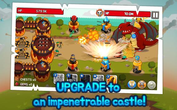 Grow Tower: Castle Defender TD apk screenshot