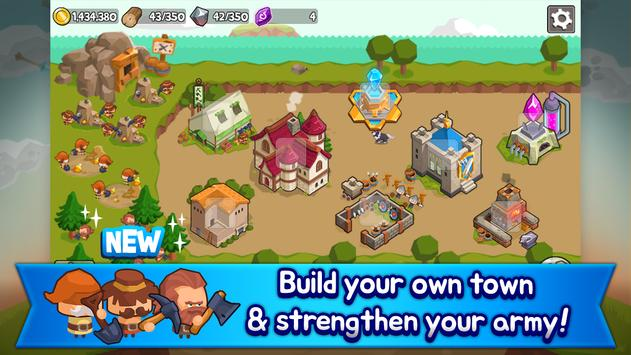 Grow Tower: Castle Defender TD screenshot 1