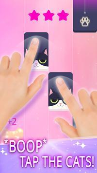 マジック猫 ピアノタイル ポスター