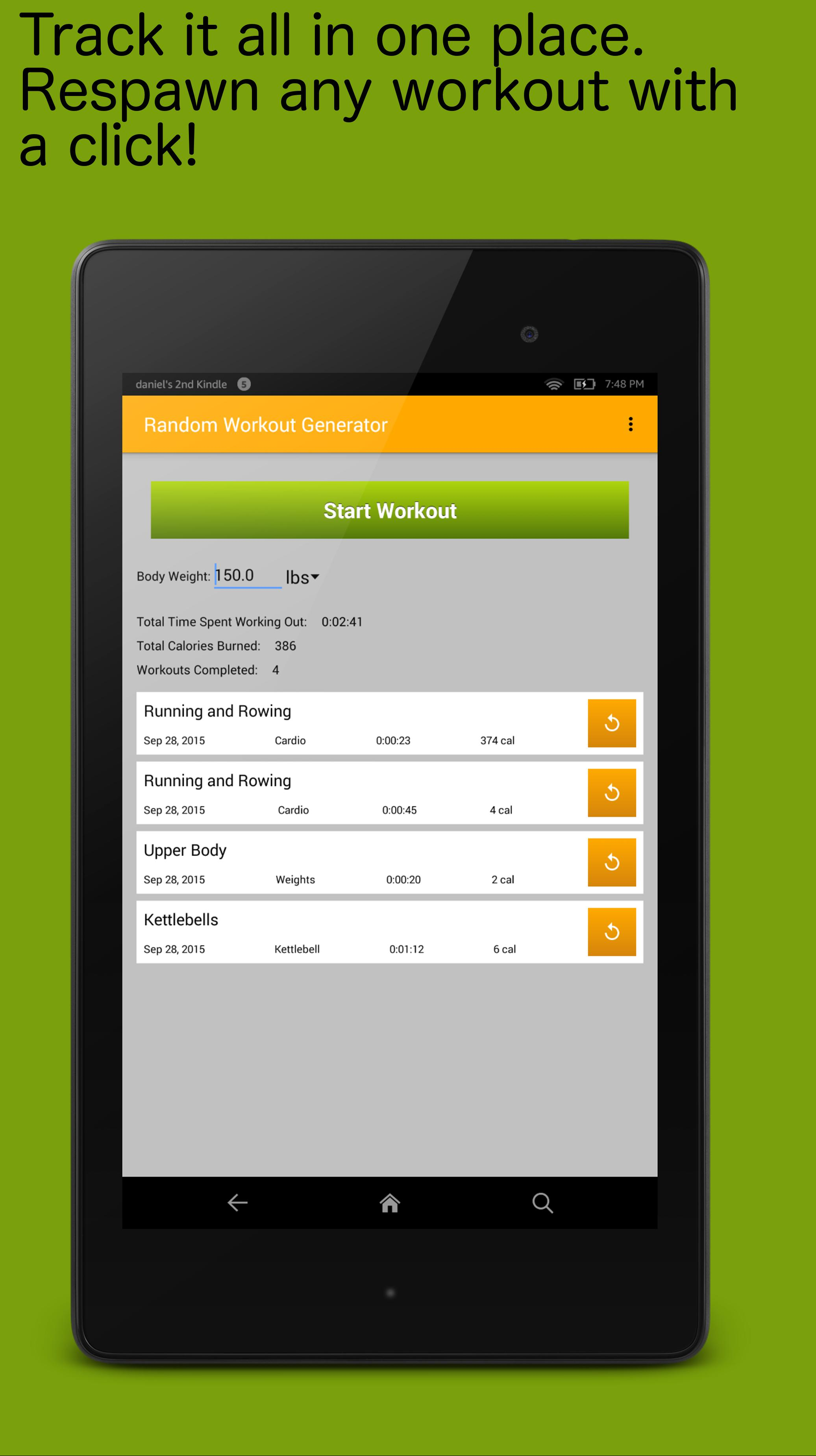 Random Workout Generator for Android - APK Download