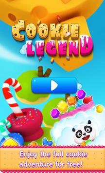 Cookie Game Legend poster