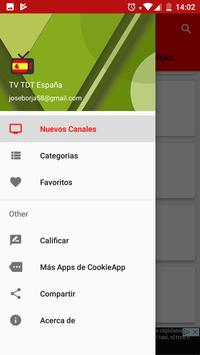 TV TDT España captura de pantalla 4