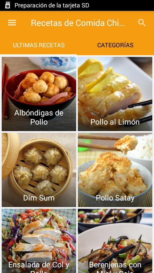 Recetas De Comida China For Android Apk Download