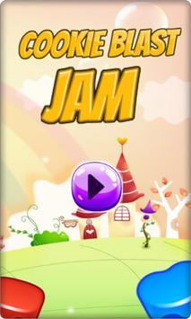 Cookie Blast Jam 포스터