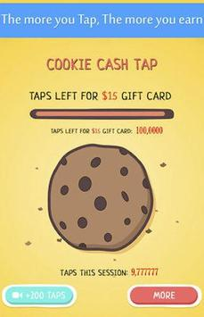 Cookie Cash Tap - Make Money poster