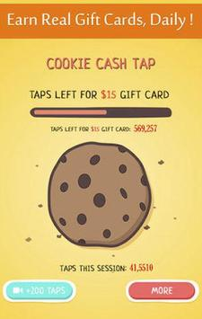 Cookie Cash Tap - Make Money screenshot 1