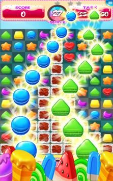 Cookie Crush Match 3 Fun Game apk screenshot