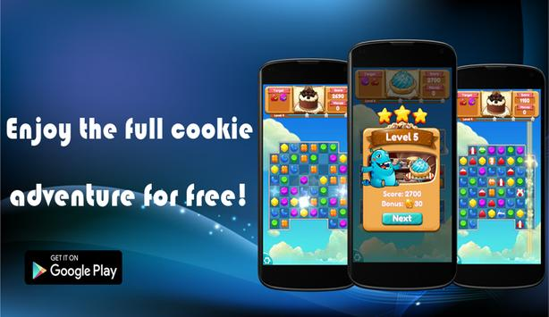 Cookie Game Legend Match 3 poster